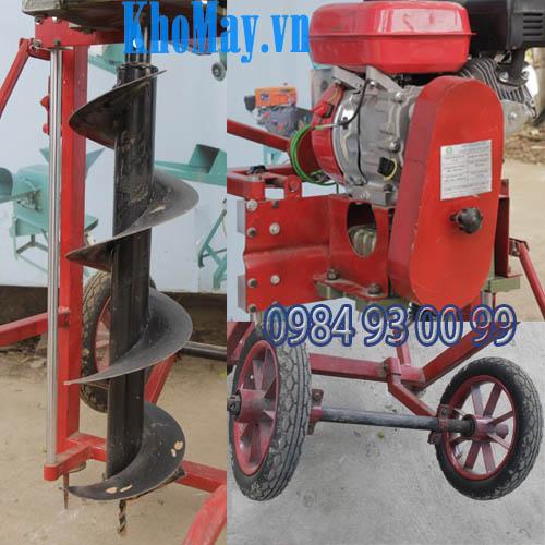 Các bộ phận máy khoan đất chạy xăng
