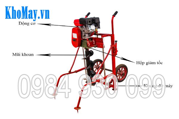 cau-tao-may-khoan-dat-chay-xang-3A7,5HP