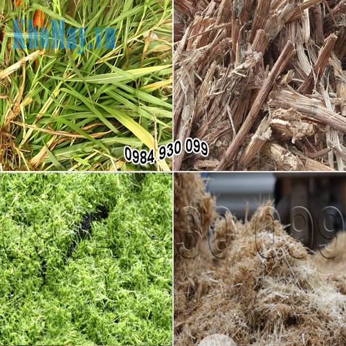 Máy xay vỏ dừa còn băm được cỏ voi, cỏ sả