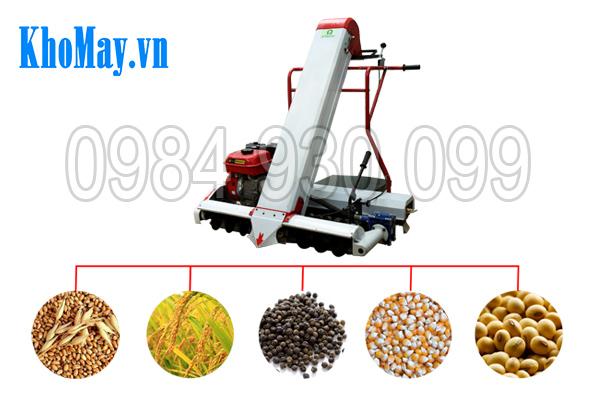 Máy hút lúa vào bao 3A thu gom được đa dạng các loại hạt nông sản
