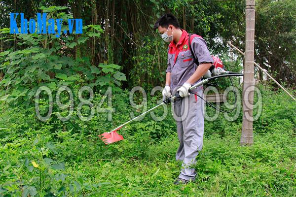 Máy làm vườn đa năng 3A: Tính năng cắt cỏ
