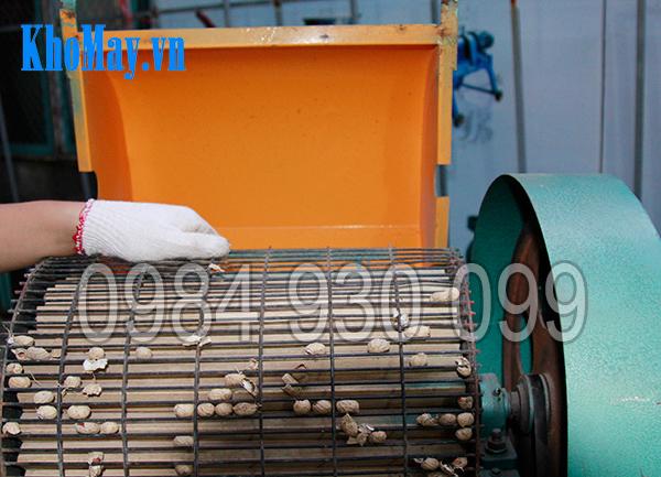 Lô tách vỏ của Máy tách vỏ đậu phộng 3A3Kw
