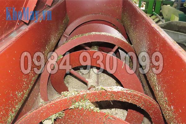 Cánh trộn dạng xoắn của Máy trộn nguyên liệu 3A3Kw (trục ngang)