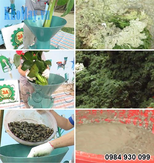 Tính năng nghiền nát nhuyễn của Máy nghiền thức ăn chăn nuôi 3A1,5Kw