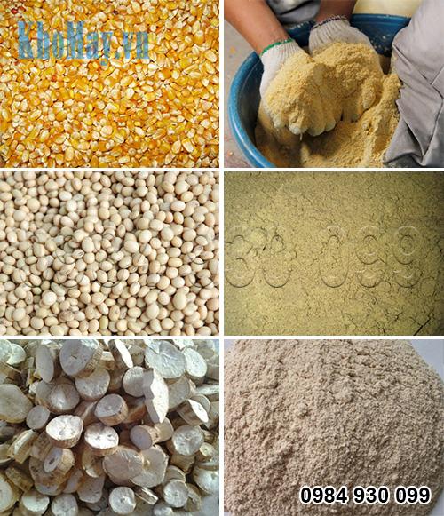 Sản phẩm nghiền bột khô của máy nghiền thức ăn chăn nuôi 3A1,5Kw