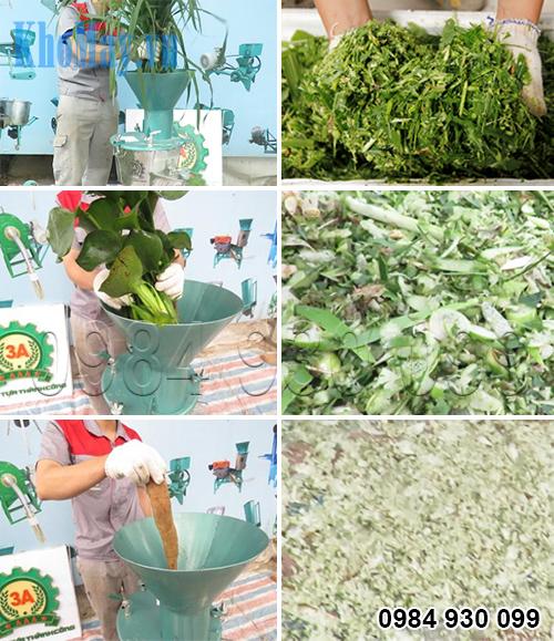 Máy chế biến thức ăn chăn nuôi đa năng 3A2.2Kw (phễu tròn)
