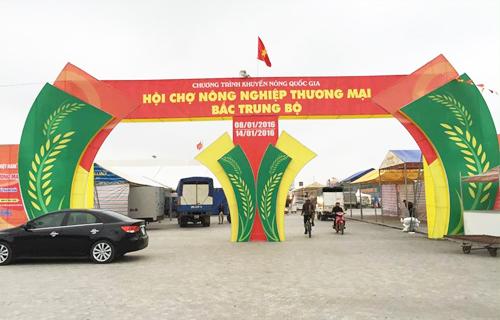 Hội chợ nông nghiệp - thương mại bắc trung bộ - thanh hóa 2016