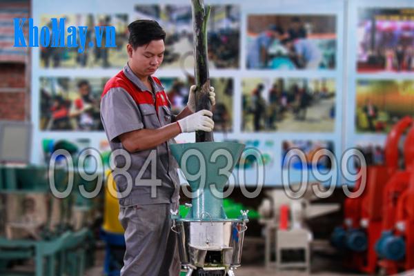 Tính năng nghiền nát nhuyễn của máy chế biến thức ăn chăn nuôi 3A 3 pha (phễu tròn)