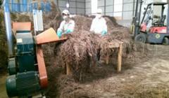 Máy nghiền lá sả khô 3A tham gia vào công trình nghiên cứu khoa học
