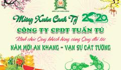Thư chúc TẾT CANH TÝ 2020 – Chủ tịch HĐQT Nguyễn Hải Châu