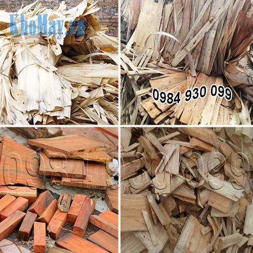 Các loại ván bóc, gỗ tạp