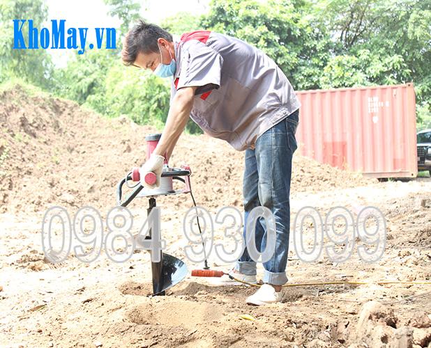 máy khoan đất trồng cây chạy điện, máy khoan đất chạy điện, máy khoan đất trồng cây, máy đào hố trồng cây, máy khoan đất