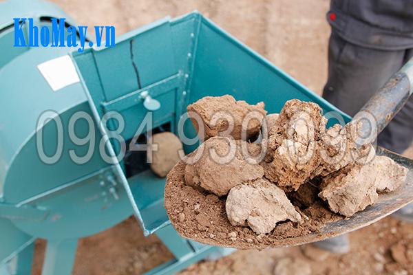 Nguyên liệu đầu vào của Máy xay đất vườn ươm 3A4Kw