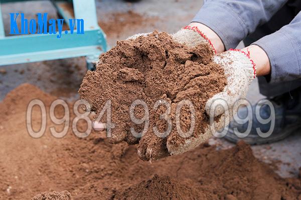 Máy xay đất vườn ươm 3A4Kw xay đất nhỏ mịn, tơi xốp