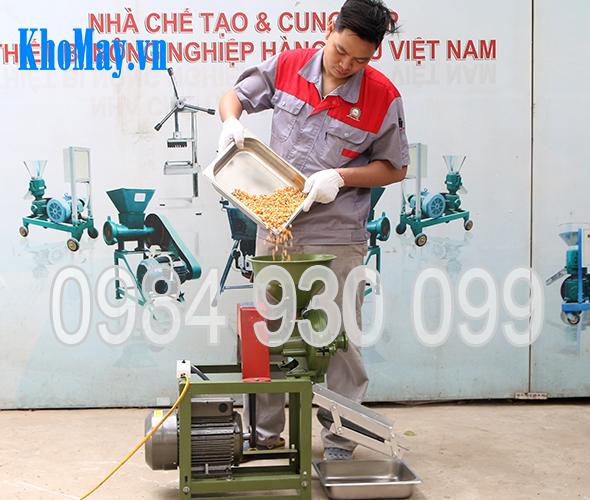 máy xay hạt bắp, máy ay bắp hạt, máy nghiền vỡ ngô, máy nghiền ngô mảnh