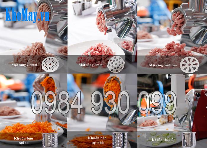máy xay thịt, máy xay cá, máy nạo rau củ quả,